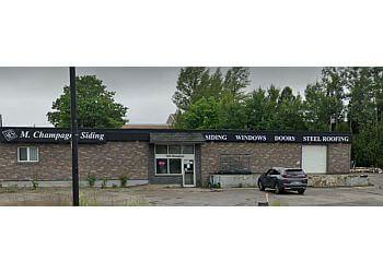 Sudbury window company M. Champagne Siding Ltd.