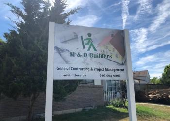 Mississauga home builder M & D Builders