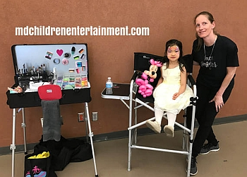 Brampton face painting MD Children Entertainment