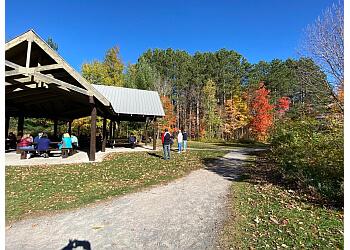 Ottawa hiking trail MER BLEUE BOG