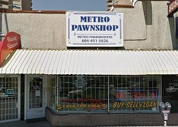 Burnaby pawn shop METRO PAWNBROKERS LTD.