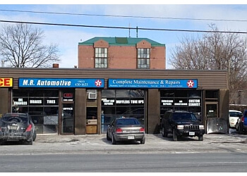 Whitby car repair shop M. R. Automotive