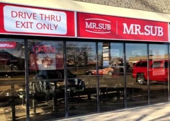 Regina sandwich shop MR.SUB