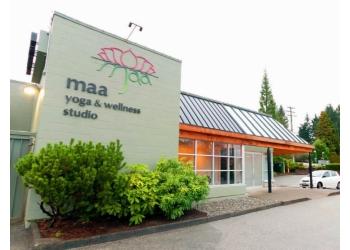 North Vancouver yoga studio Maa Yoga Studio