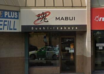 Kelowna sushi Mabui Sushi Izakaya