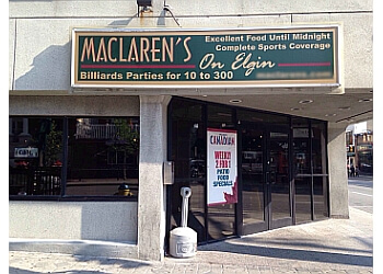 Ottawa sports bar MacLaren's on Elgin