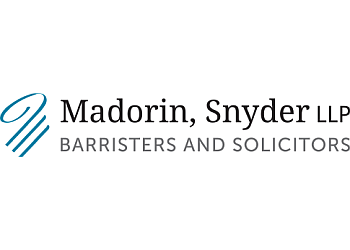 Kitchener business lawyer Madorin Snyder LLP