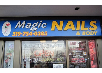 Brantford nail salon Magic Nails & Body