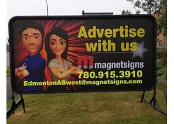 Edmonton sign company Magnetsigns