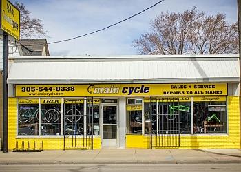 Hamilton bicycle shop Main Cycle