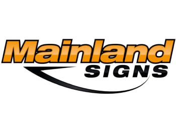 Richmond sign company Mainland Signs