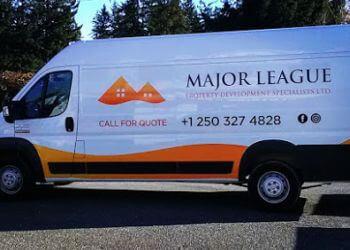 Nanaimo handyman Major League Property Development Specialists Ltd.