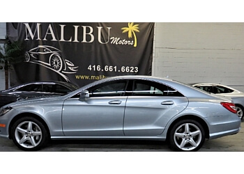 Toronto used car dealership Malibu Motors