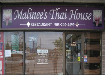 Oshawa thai restaurant Malinee's Thai House