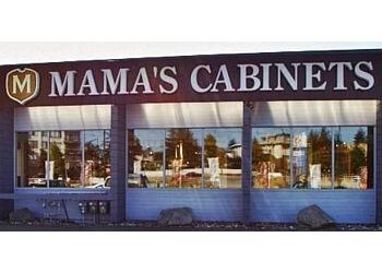 Mama's Kitchen Vancouver Custom Cabinets