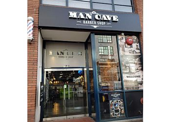 Vancouver barbershop Man Cave Barber Shop