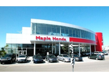 Vaughan car dealership Maple Honda