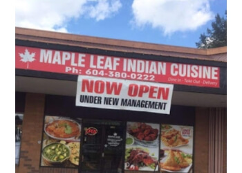 Maple Ridge indian restaurant Maple Leaf Indian Cuisine