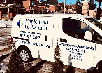Richmond Hill locksmith Maple Leaf Locksmith