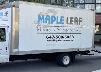 Brampton moving company Maple Leaf Moving & Storage