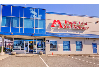 Coquitlam storage unit Maple Leaf Self Storage