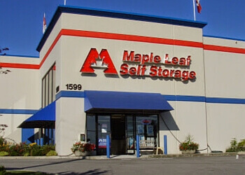 Port Coquitlam storage unit Maple Leaf Self Storage