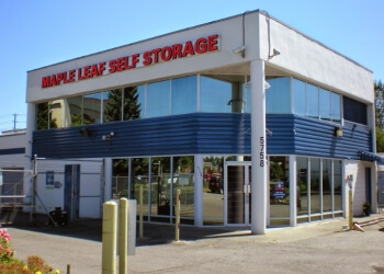 Surrey storage unit Maple Leaf Self Storage