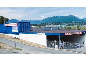 Vancouver storage unit Maple Leaf Self Storage
