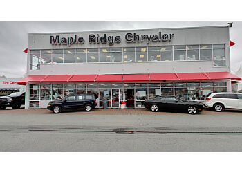 Maple Ridge car dealership Maple Ridge Chrysler Dodge Jeep Ram