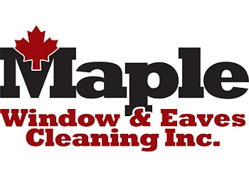 Toronto window cleaner Maple Window & Eaves Cleaning Inc.
