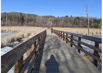 Sherbrooke hiking trail Marais Réal D.-Carbonneau