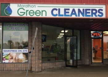 Newmarket dry cleaner Marathon Green Cleaners