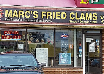 Moncton fish and chip Marc's Fried Clams
