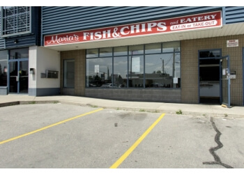 Brantford fish and chip Maria's Fish and Chips