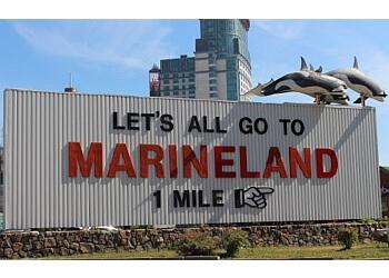 Niagara Falls amusement park Marineland Canada