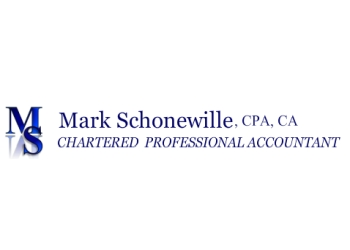St Catharines accounting firm Mark Schonewille Chartered Accountant