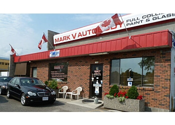 Kelowna auto body shop Mark V Auto Body Ltd.