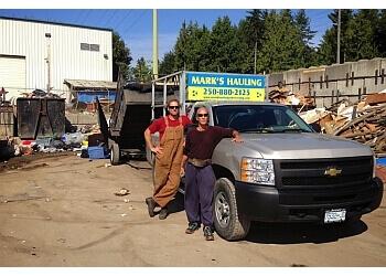 Saanich junk removal Mark's Hauling