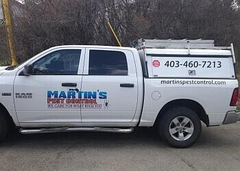 Airdrie pest control Martin's Pest Control