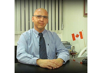 Edmonton immigration consultant Marty Baram