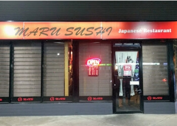Langley japanese restaurant MARU SUSH JAPANESE RESTAURANT