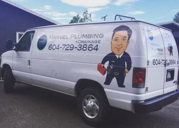 Burnaby plumber Marvel Plumbing + Drainage