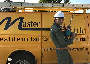 Windsor electrician Master Electric LTD.