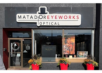Milton optician Matador Eyeworks