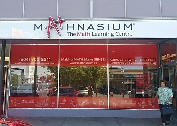 North Vancouver tutoring center Mathnasium