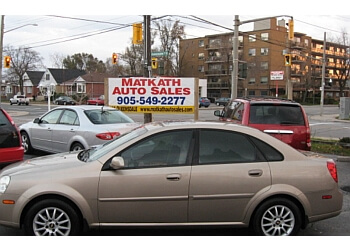 Hamilton used car dealership Matkath Auto Sales