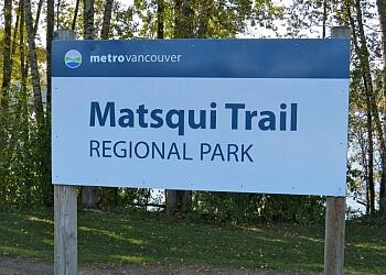 Abbotsford hiking trail Matsqui Trail Regional Park Trail