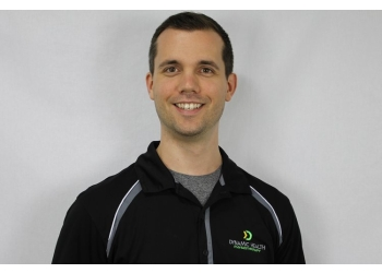 Fredericton physical therapist Matthew Calhoun, PT, BScKin, MScESS, MScPT