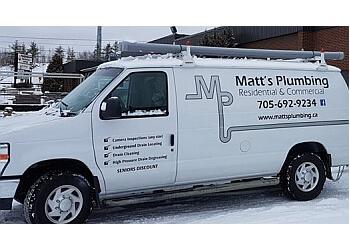Sudbury plumber Matt's Plumbing
