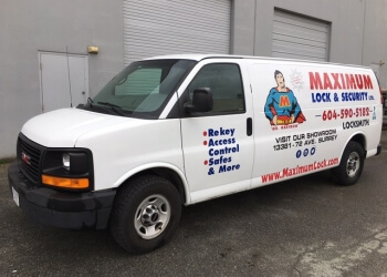 Surrey locksmith Maximum Lock & Security Ltd.